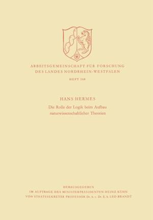 Die Rolle der Logik beim Aufbau naturwissenschaftlicher Theorien af Hans Hermes