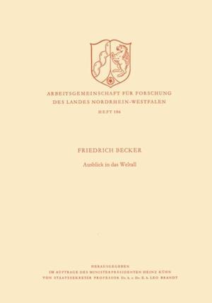 Ausblick in das Weltall af Friedrich Becker