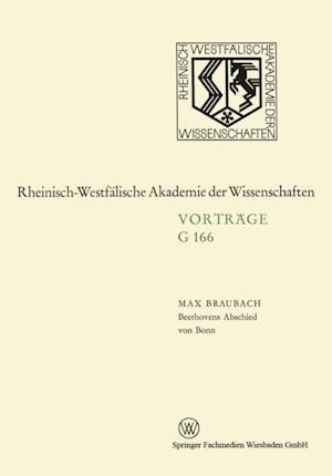 Beethovens Abschied von Bonn af Max Braubach