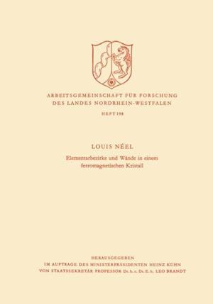 Elementarbezirke und Wande in einem ferromagnetischen Kristall af Louis Neel