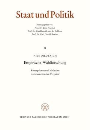 Empirische Wahlforschung af Nils Diederich