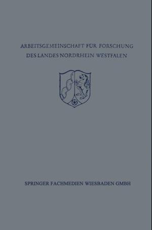 Festschrift der Arbeitsgemeinschaft fur Forschung des Landes Nordrhein-Westfalen zu Ehren des Herrn Ministerprasidenten Karl Arnold af Bruno Kuske, Karl Ziegler, Friedrich Becker