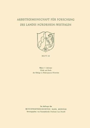 Gluck und Ende der Konige in Shakespeares Historien af Walter F. Schirmer