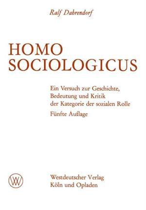 Homo Sociologicus af Ralf Dahrendorf