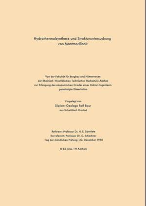 Hydrothermalsynthese und Strukturuntersuchung von Montmorillonit