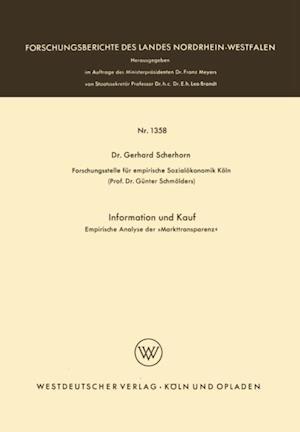 Information und Kauf