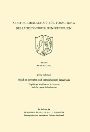 Irland im deutschen und abendlandischen Sakralraum af georg schreiber