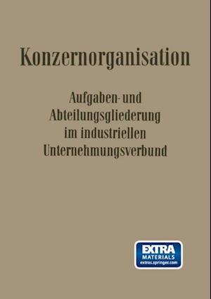 Konzern-Organisation af Erich Potthoff, Walter Krahe, Carl Hundhausen