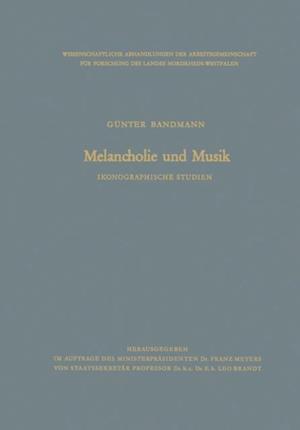 Melancholie und Musik af Gunter Bandmann