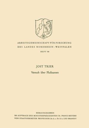 Versuch uber Flunamen af Jost Trier