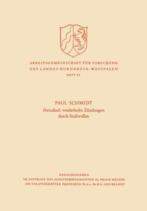Periodisch Wiederholte Zundungen durch Stowellen af Paul Schmidt