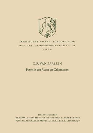 Platon in den Augen der Zeitgenossen af C. R. Van Paassen