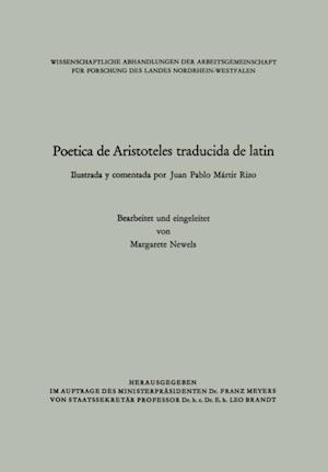 Poetica de Aristoteles traducida de latin af Juan Pablo Martir Rizo