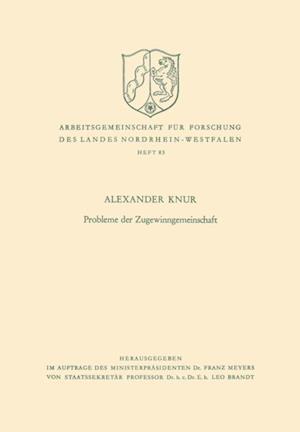 Probleme der Zugewinngemeinschaft af Alexander Knur