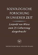 Soziologische Forschung in Unserer Zeit af Karl Gustav Specht