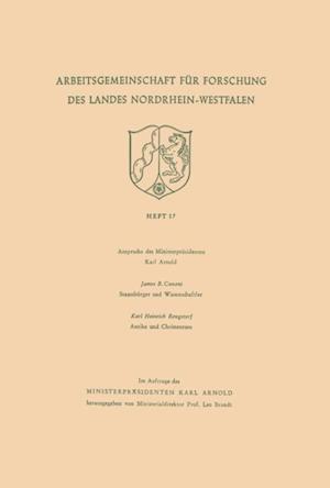 Ansprache des Ministerprasidenten. Staatsburger und Wissenschaftler. Antike und Christentum af Karl Heinrich Conant