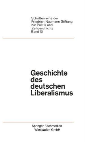 Geschichte des deutschen Liberalismus