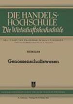 Genossenschaftswesen af Reinhold Henzler