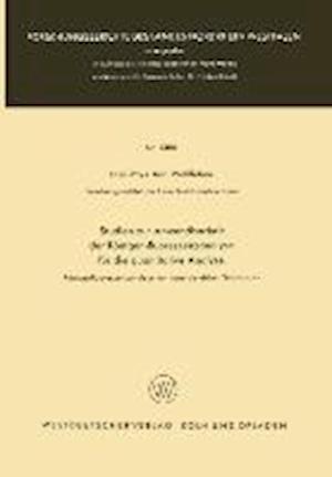 Studien Zur Anwendbarkeit Der Rontgen-Fluoreszenzanalyse Fur Die Quantitative Analyse