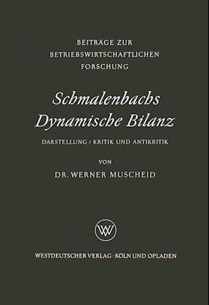 Schmalenbachs Dynamische Bilanz