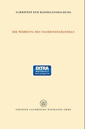 Die Werbung des Facheinzelhandels af Fritz Klein-Blenkers, E. Sundhoff