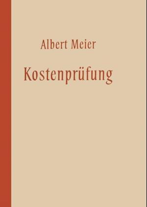 Kostenprufung af Albert Meier