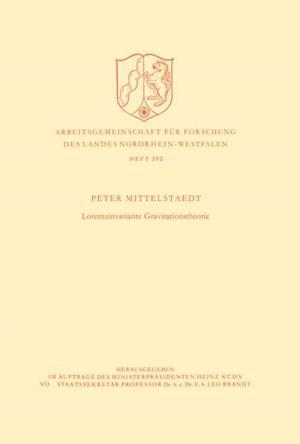 Lorentzinvariante Gravitationstheorie af Peter Mittelstaedt