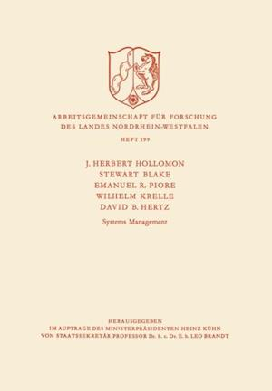 Systems Management af J.H Hollomon