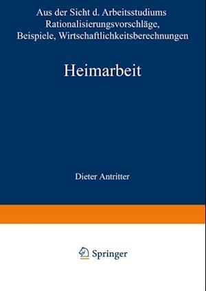 Heimarbeit af Dieter Antritter