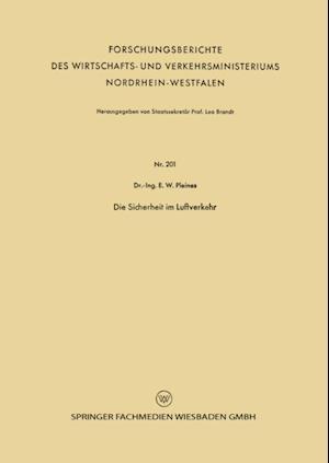 Die Sicherheit im Luftverkehr af Ernst Wilhelm Pleines