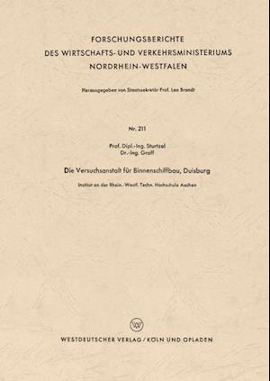 Die Versuchsanstalt fur Binnenschiffbau, Duisburg af Wilhelm Sturtzel