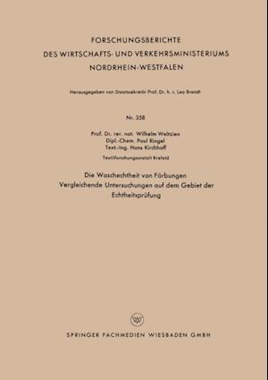 Die Waschechtheit von Farbungen af Wilhelm Weltzien