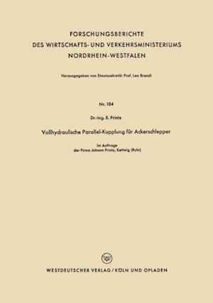 Vollhydraulische Parallel-Kupplung fur Ackerschlepper af Ernst Printz