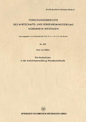 Die Hochschulen in der Aufwartsentwicklung Westdeutschlands