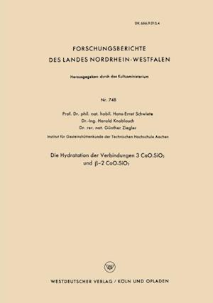 Die Hydratation der Verbindungen 3 CaO.SiO2 und -2 CaO.SiO2 af Hans-Ernst Schwiete