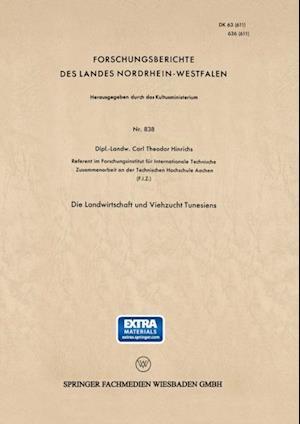 Die Landwirtschaft und Viehzucht Tunesiens af Carl-Theodor Hinrichs