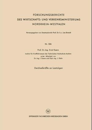 Deichselkrafte an Lastzugen af Ernst Essers