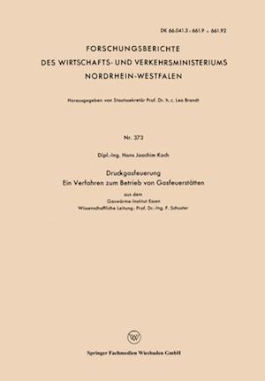 Druckgasfeuerung Ein Verfahren zum Betrieb von Gasfeuerstatten af Hans Joachim Koch
