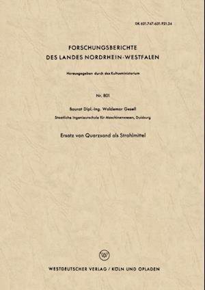 Ersatz von Quarzsand als Strahlmittel af Waldemar Gesell