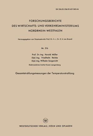 Gesamtstrahlungsmessungen der Temperaturstrahlung af Harald Muller