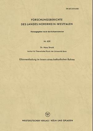 Glimmentladung im Innern eines kathodischen Rohres af Hans Strack