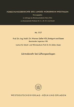 Larmabwehr bei Luftungsanlagen af Werner Zeller