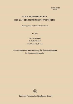Untersuchung und Verbesserung des Storuntergrundes im Massenspektrometer