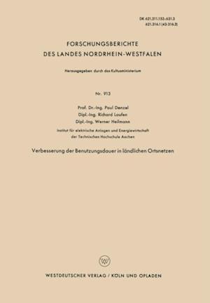 Verbesserung der Benutzungsdauer in landlichen Ortsnetzen af Paul Denzel