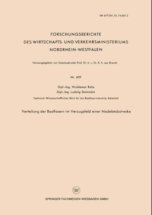 Verteilung der Bastfasern im Verzugsfeld einer Nadelstabstrecke af Waldemar Rohs