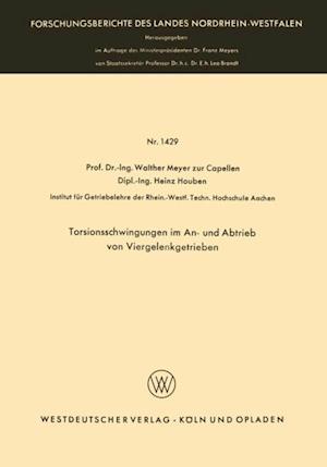Torsionsschwingungen im An- und Abtrieb von Viergelenkgetrieben af Walther Meyer Zur Capellen