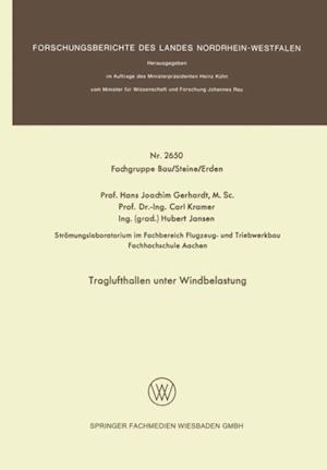 Traglufthallen unter Windbelastung af Hans Joachim Gerhardt