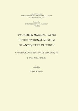 Two Greek Magical Papyri in the National Museum of Antiquities in Leiden af Robert W Daniel Robert W Daniel