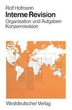 Interne Revision af Rolf Hofmann, Rolf Hofmann