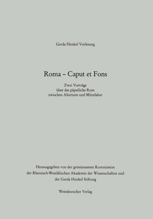 Roma - Caput et Fons